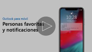 Miniatura de las notificaciones y personas favoritas vídeo: Haz clic para jugar