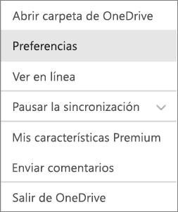 Centro de actividades en OneDrive para Mac
