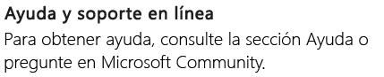 """""""Ayuda en línea y soporte técnico"""" de PowerPoint en un teléfono Android"""