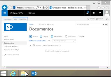 Abra el Explorador de archivos desde la barra de Inicio u otra ubicación.
