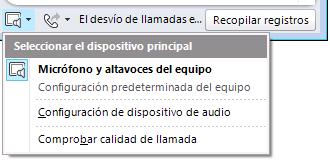 Seleccionar audio