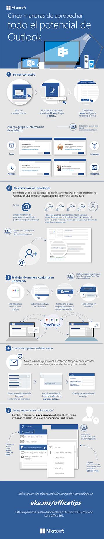 5 pasos para tener un correo electrónico más divertido en Outlook 2016