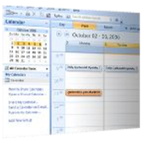 Interfaz de Outlook 2007