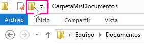 Icono Nueva carpeta.