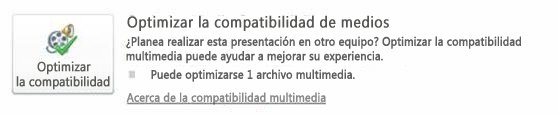 Optimizar multimedia por cuestiones de compmatibilidad