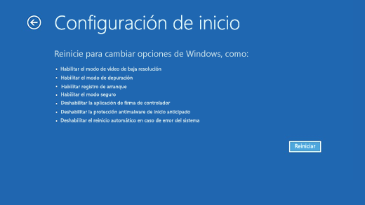Iniciar el PC en modo seguro en Windows 10