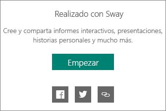 Realizado por la marca de Sway