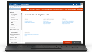 Illustration of the Office 365 Admin Center. Find out more about the Office 365 admin center