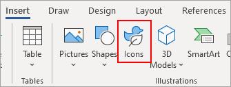 Seleccionar iconos