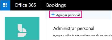 Agregar botón de personal en las páginas de personal de reservas