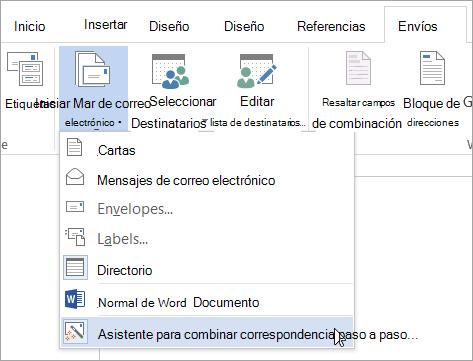 Crear un directorio de nombres, direcciones y otra información - Word
