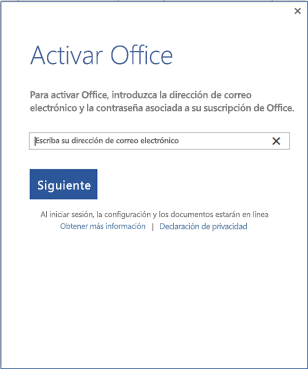 Activar Office