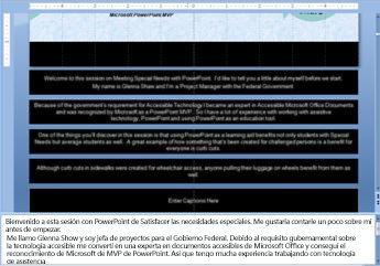 Patrón de diapositivas con texto en los marcadores de título