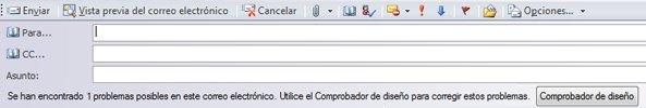 Enviar publicación como correo electrónico en Publisher 2010