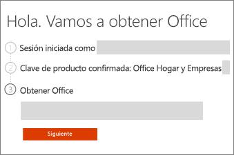 Compruebe su producto de Office.