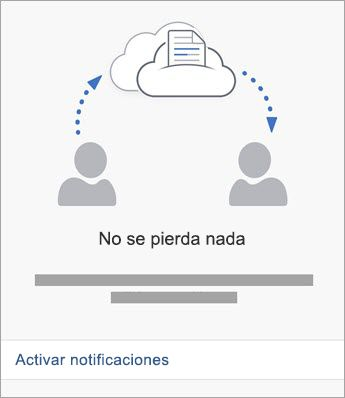 Activar notificaciones