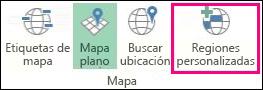 Regiones personalizadas