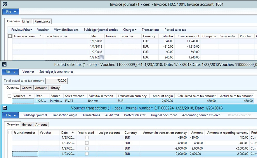 KB4072642 - factura de proveedor y los impuestos sobre las ventas transaction2