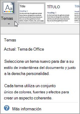 Información en pantalla mejorada con la opción ayuda