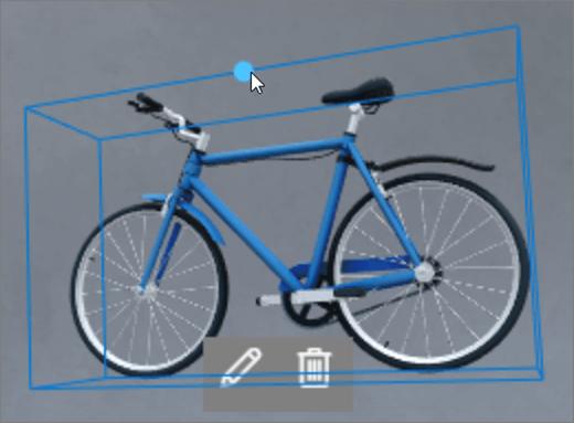 Interfaz de usuario de rotación