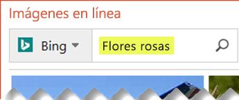 Escriba los términos de búsqueda que describen la imagen prediseñada que desea buscar