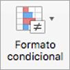 Botón Formato condicional