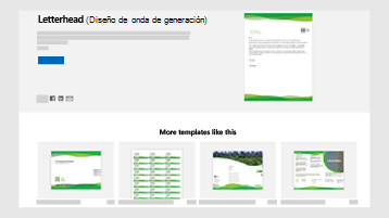 Plantillas de documentos empresariales en templates.office.com