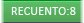 Recuento de fila en la barra de estado de Excel