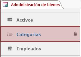 icono Bloqueado aparezcan en una tabla bloqueada en Access