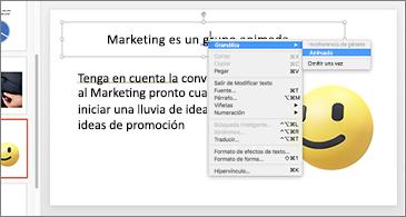 Una diapositiva con un subrayado doble azul y dorado