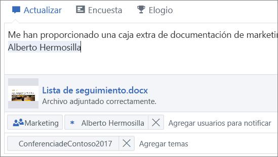 Adjuntar archivos