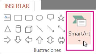 Insertar SmartArt