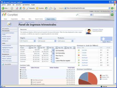 Integración del explorador de Office Excel 2007