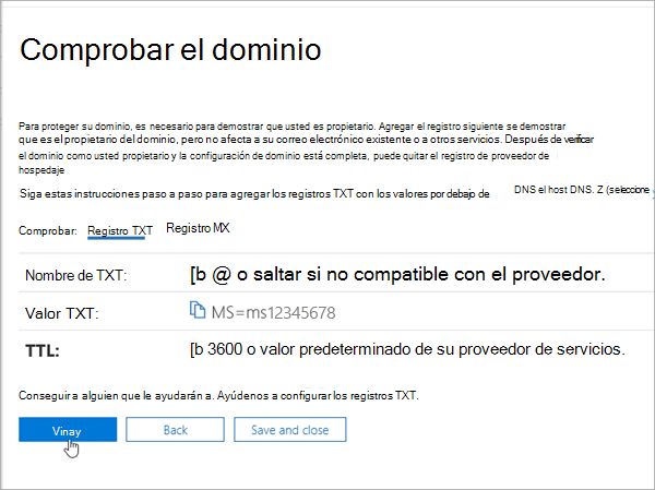 OVH comprobar su dominio en Office 365_C3_201769202357