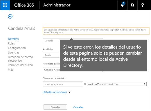 Cambiar un nombre de usuario en Active Directory