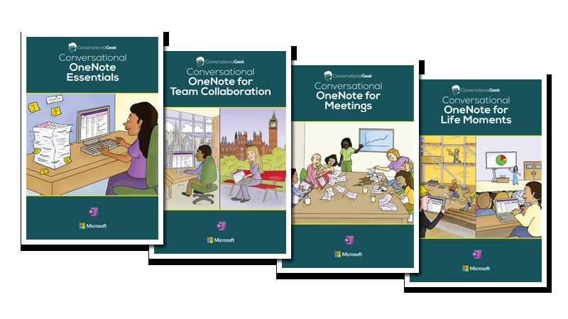 Captura de pantalla de cuatro portadas del libro electrónico