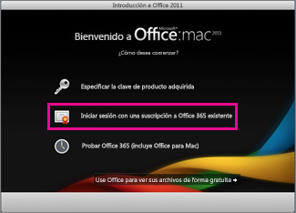 Solucionar Errores De Activación De Office Para Mac 2011 Soporte De Office
