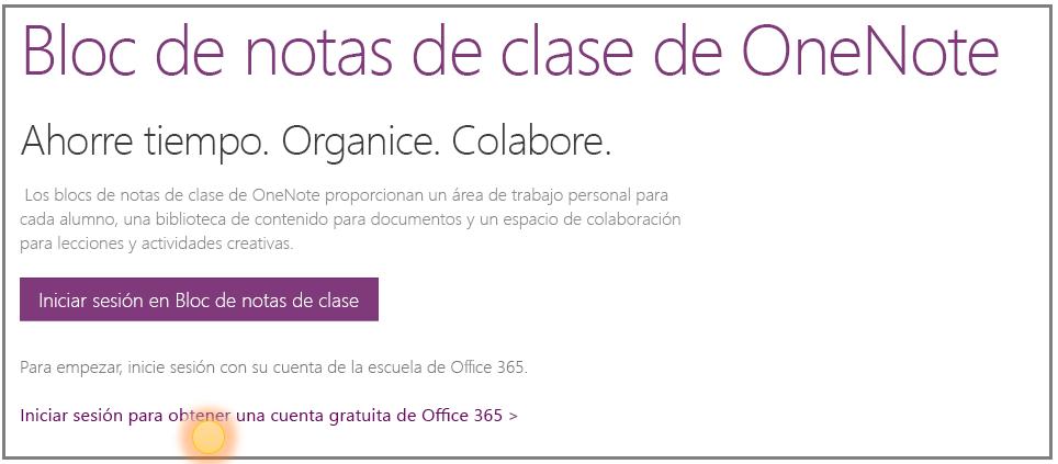 Captura de pantalla de cómo obtener una cuenta gratuita de Office 365.