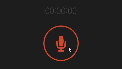 Botón grabar