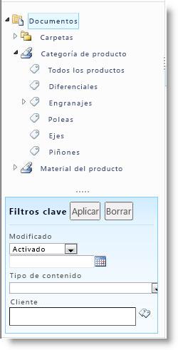 Control de navegación por metadatos
