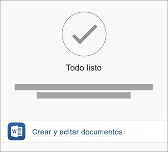Pulse Crear y Editar para empezar a usar la aplicación.