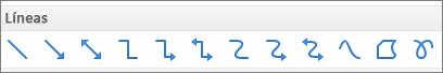 Líneas de PPT para Mac