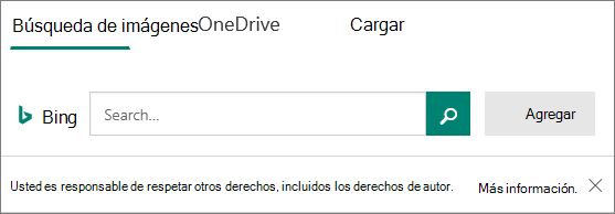 Insertar opciones de imagen para Microsoft Forms