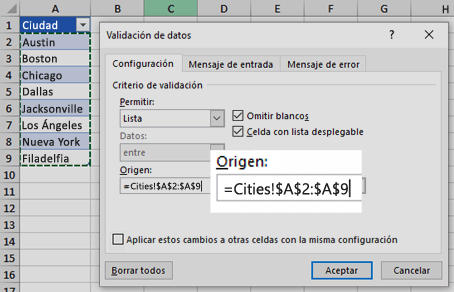 Crear Una Lista Desplegable Soporte De Office