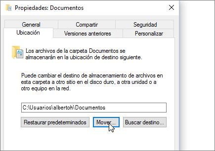 Captura de pantalla que muestra el menú de propiedades de documentos en el Explorador de archivos.