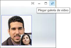 Captura de pantalla de Plegar galería de vídeo