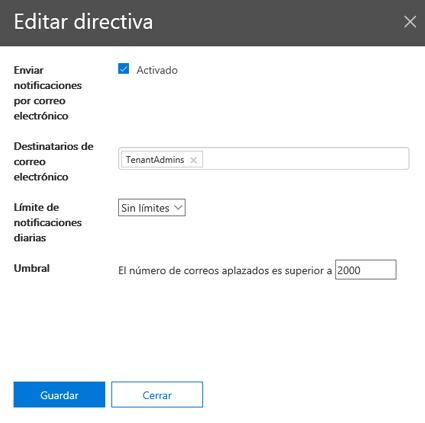 Editar el módulo de directiva
