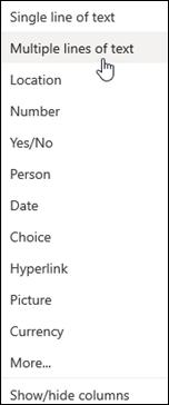 Varias líneas de texto