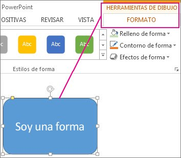 Cambiar los colores de un cuadro de texto o una forma  Soporte de