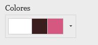 Cambiar los colores del sitio